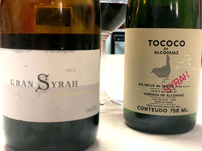 Comparativa Tococo & Grand Syrah